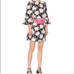 NEW! Valentino. Silk crepe floral southern bell
